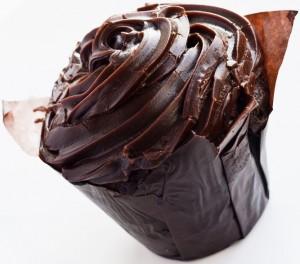Cupcake glaçage chocolat