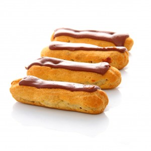 Eclairs nappage chocolat noir