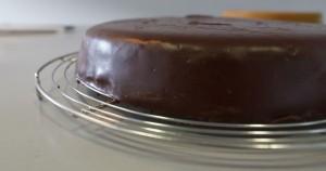 Nappage chocolat noir croquant