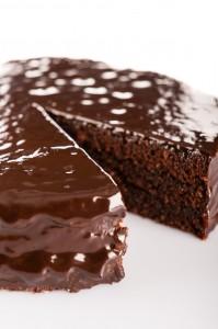 Gâteau tout chocolat avec whisky