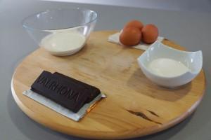 Ingrédients chocolat brillant