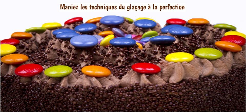 Nappage au chocolat et smarties